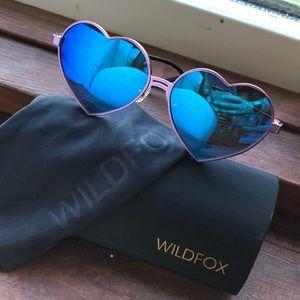 Wildfox Heart sunglasses